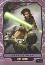 2012 Topps Star Wars Galactic Files Card #188 Bastila Shan