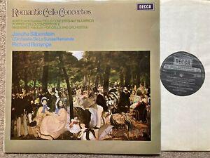 SXL 6547 Romantic Cello Concertos / Siberstein / Bonynge