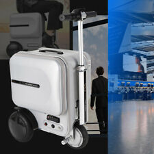 Airwheel 29.3L Silver Pc Electric Skateboard & Suitcase/Luggage Scooter Us Stock