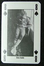 1 x playing card 90 Minutes Football Glenn Hoddle 8 of Spades
