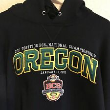 University of Oregon Ducks Hoodie XL 2011 Tostito BCS National Championship Bowl