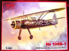 ICM Models 1:48 Henschel Hs 126B Aircraft Model Kit