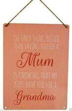 Modern Mum Decorative Door Signs/Plaques