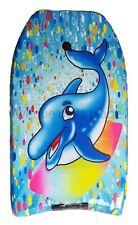 Bodyboard dauphin surfeur planche 81 cm pour enfant, jeux, jouet de plage NEUF