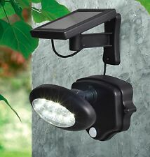Extra Bright Solar Security Light Garage Driveway Light w/ Motion Sensor 10 LED