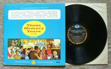 LONGINES SOCIETY-Those Memory Years Vol.1-1950's MCA Stereo LP DL-734663 VG+