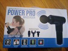 Power Pro 3900 6 Speeds Ultra Massage Gun  4 interchangeable heads