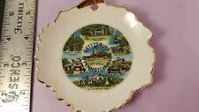 Vintage Collectible Souvenir Mini Plate Gettysburg Pennsylvania, Japan