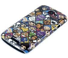 Schutzhülle f HTC One S Tasche Case Hard Cover Schale Comic Emoticons Smiley