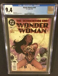 WONDER WOMAN #146 Comic Book CGC 9.4 Adam Hughes Cover GAL GADOT Promo Poster