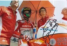 Eric Granado mano firmado 7x5 Foto Mapfre Aspar Moto MotoGP 3.