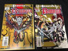 Bloodseed 1 & 2 (Set of 2) - Marvel Frontier Comics