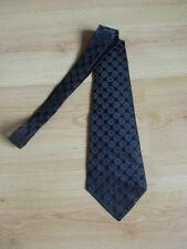 Cravate en soie Yves Saint Laurent Noir Taille Unique à - 61%