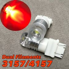 Brake Light Red 5W SMD LED Bulb T25 3057 3157 4157 W1 For Buick HA