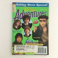 Disney Adventures Magazine November 2002 Harry Potter & Lord of the Rings, VG