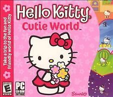 Video Game PC Hello Kitty Cutie World Jewel Case (PC, 2003) NEW SEALED Jewel