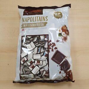 Sarotti Napolitains3kg original Schweizer Schokoladen-Stückchen 4-fach sortiert