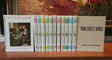MY BOOK HOUSE Complete 12 Volume Set + 1 (1971) Hardcover Olive Beaupre Miller