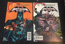 "Batman And Robin#1-2 Incredible Condition 9.0(2014)""Convergence""Cowan Art!!"