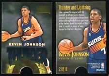 1996-97 SKYBOX PREMIUM THUNDER KEVIN JOHNSON/DANNY MANNING #2 BASKETBALL CARD