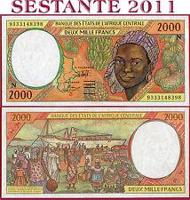 (com) CENTRAL AFRICAN STATES EQUATORIAL GUINEA 2000 2.000 Francs 1993 P 503Na VF