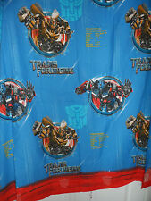 Transformers Revenge Of The Fallen Flat Twin Sheet Bedding Fabric 2009