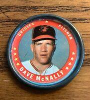 1971 Topps COINS #26 Dave McNally - Orioles