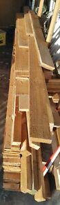 Fichte Schalbretter 18 mm ca. 20 m² und 6 Kanthölzer 3 m / 6 x 4 cm gebraucht