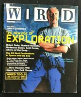 WIRED MAGAZINE - December 2004 - JAMES CAMERON / Cellphone Hackers / Robot Subs