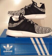 new concept 83d34 75a2c AUTHENTIC ADIDAS XPLR TRAINERS BLACK-WHITE KNIT BB2899 SIZES FROM UK 6 -