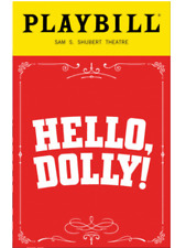 Hello, Dolly! PlayBill August 2017 OBC Bette Midler David Hyde Pierce