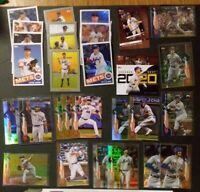 Team Lot of 30-- 2020 Topps Series 1 NY METS Parallel & Insert Cards
