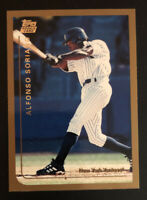ALFONSO SORIANO 1999 Topps Traded NEW YORK YANKEES ROOKIE CARD Baseball RC