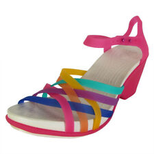 Crocs Womens Huarache Wedge Sandal Shoes