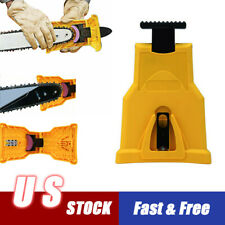 Easy File Chainsaw Teeth Sharpener Tool Chain Sharpening For Woodworking Us