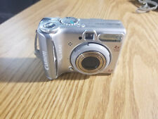 Canon PowerShot A540 6.0MP 4x Optical Zoom Digital Camera Auto Focus Silver