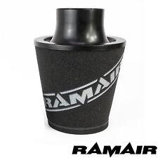 RAMAIR Schwarz M Aluminium Induktionsluftfilter Universal 90Mm MM Hals
