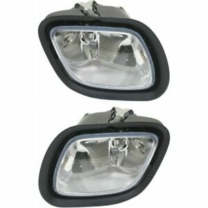 Freightliner Cascadia Pair Set Passenger Right & Driver Left Side Fog Light