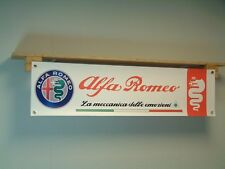 Alfa Romeo Banner Car Workshop Show Sign Quadrifoglio clover leaf