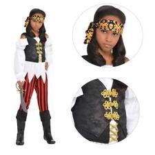 Disfraces de niña blancos, piratas