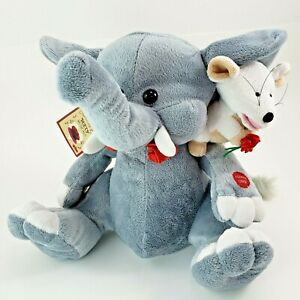PBC Plush Chantilly Lane Musical Forget Me Not Duet Elephant Mouse Unforgettable