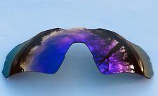 Polarized purple a specchio di ricambio Oakley Radar Path EV Lens & Pouch