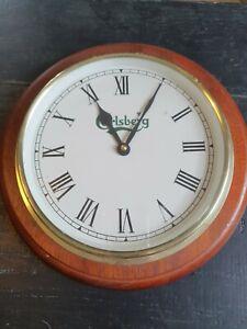 Vintage Carlsberg Clock / Used / Pub Salvage  not working