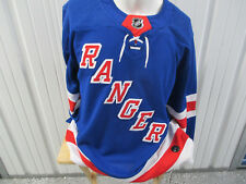 ADIDAS NHL AUTHENTIC NEW YORKS RANGERS SIZE 52 SEWN HOME JERSEY NEW W/ TAGS