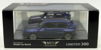 Neo 1/43 Scale Model Car NEO45826 - Rieger Golf - Blue