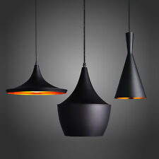 Modern Black/White/Red Beat Style Ceiling Pendant Light Lamp Shade Chandeliers