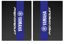 YAMAHA PRO CIRCUIT UPPER MIDDLE FORK GUARDS DECAL STICKER GRAPHIC MOTOCROSS