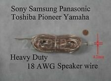 30ft speaker cable/wire 18AWG made for 4.2mm sony/samsung/Panasonic Home theater