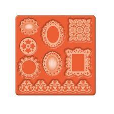 MOD PODGE silicone stampo Abbellimenti OVALE TONDA QUADRATA Frame & bordo 24890