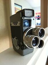 Vintage Wizard 8 Triple Turret Movie Camera ~ WIZNER 9,13 & 25mm f/1.8 Lenses